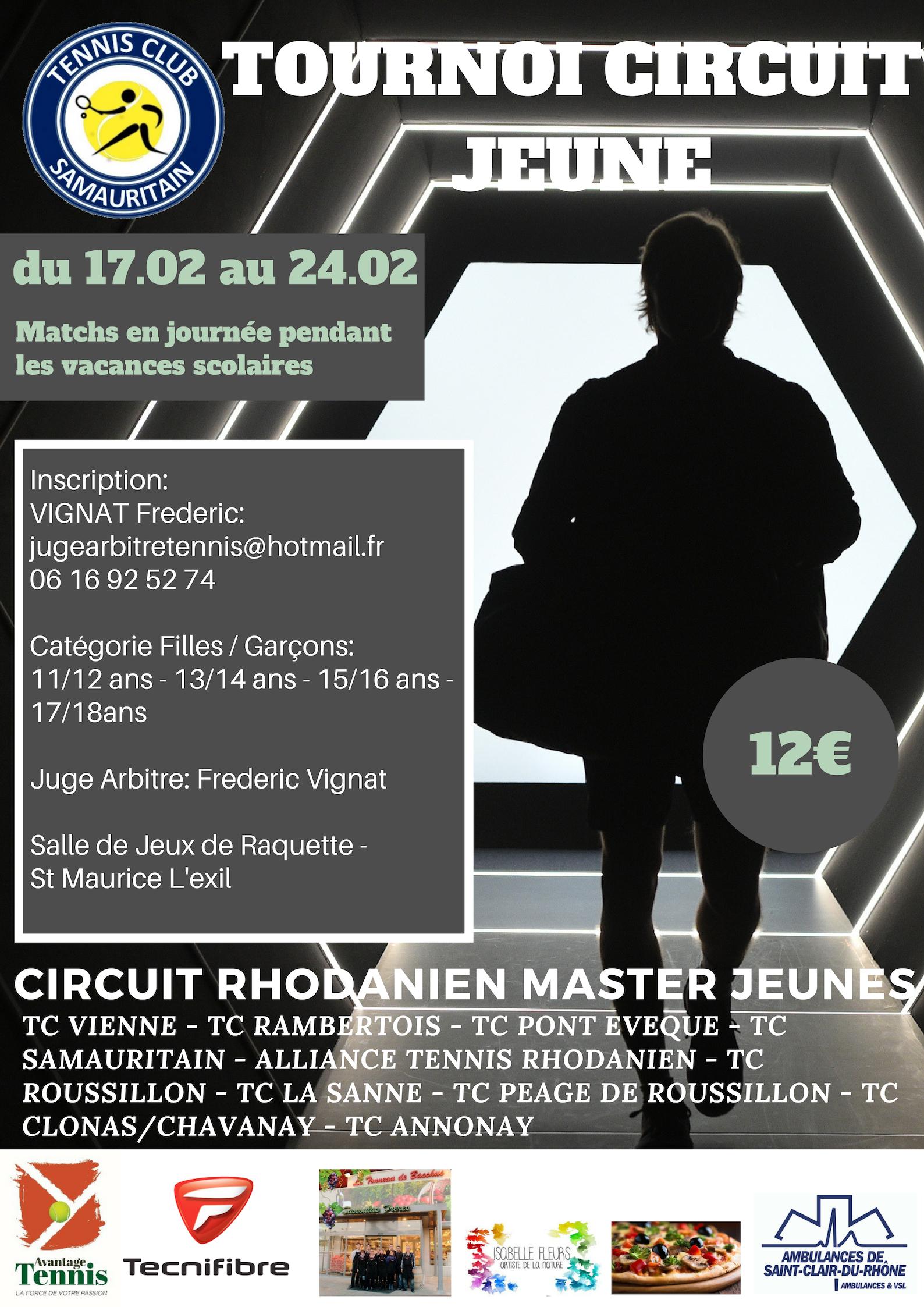 Tournoi Circuit Jeune